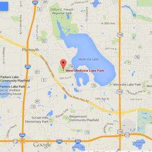 West Medicine Lake Map